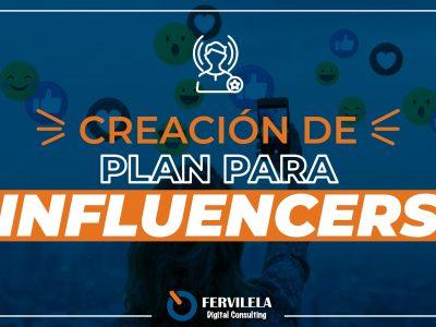 Creación del Plan para Influencers